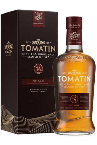 Tomatin 14 Jahre Port Wood Finish