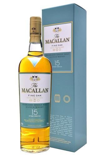 Macallan 15 Fin Oak Single Malt Whisky
