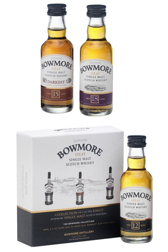 Bowmore Whisky Miniaturen Set