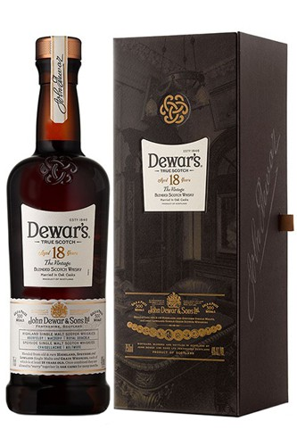 Dewars's 18 Jahre Double Aged Blended Scotch