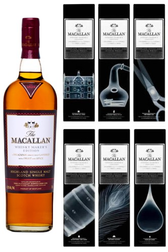 Macallan X-Ray Whisky Makers Edition