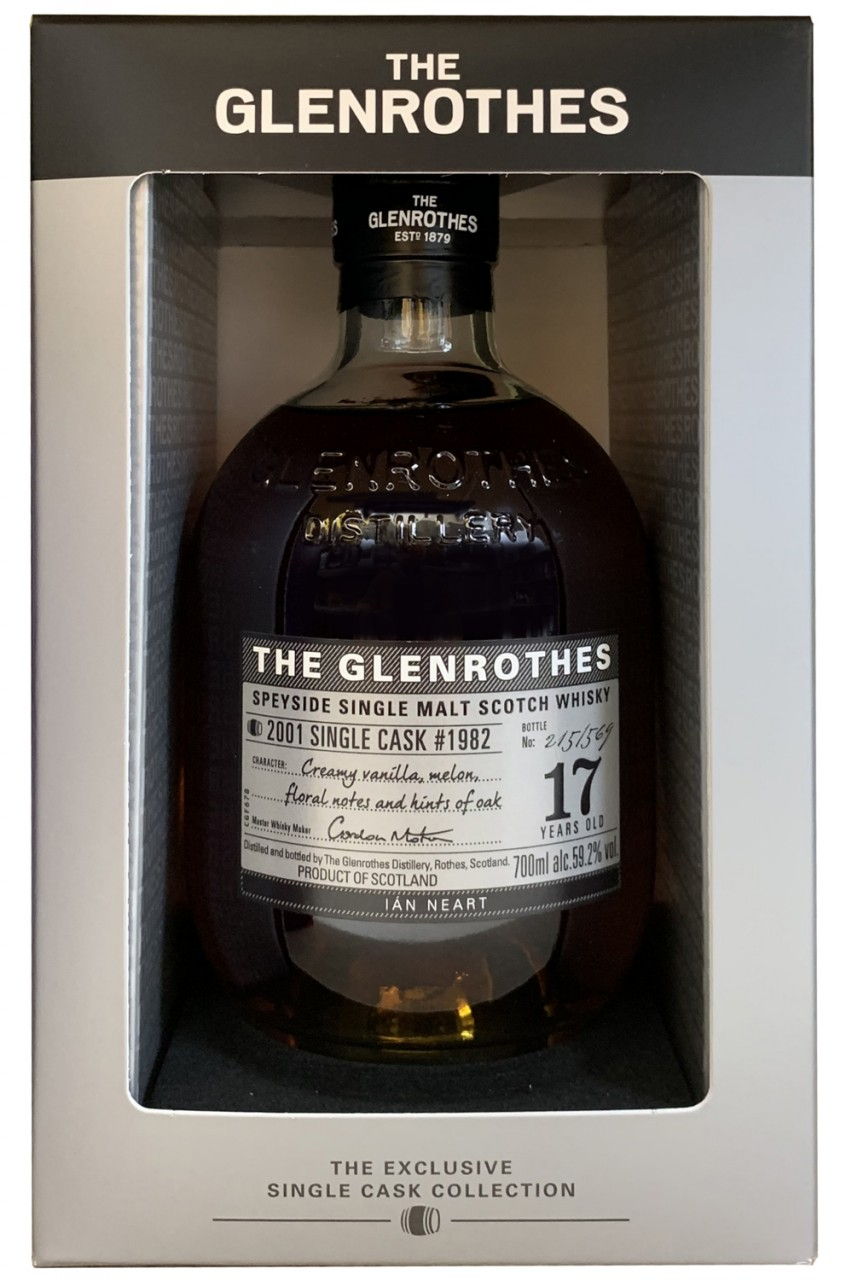 Glenrothes 17 Jahre Ian Neart Single Cask - 59,2%