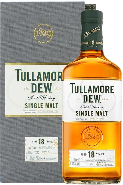 Tullamore D.E.W. 18 Jahre Single Malt Whiskey