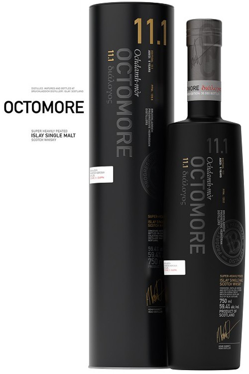 Bruichladdich Octomore 11.1 Scottish Barley