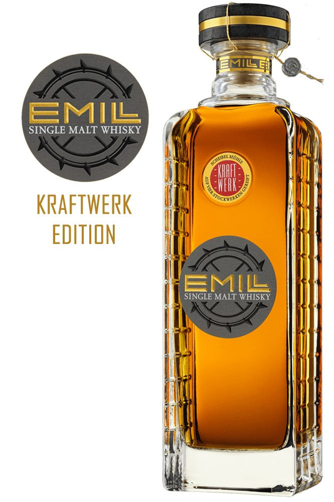 EMILL Single Malt Whisky - Kraftwerk 58,7% Vol.