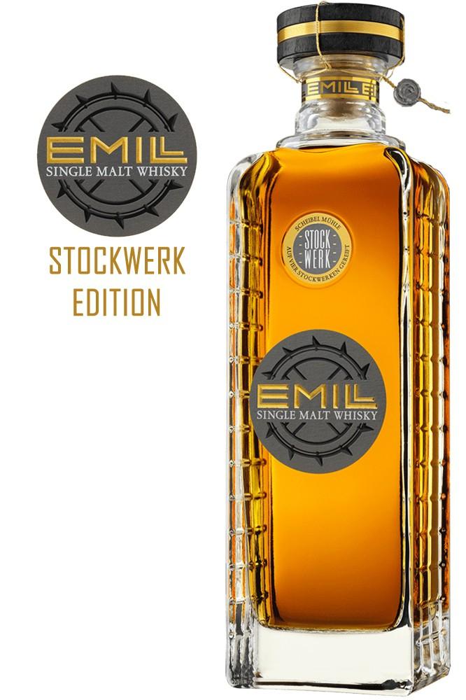 EMILL Single Malt Whisky - Stockwerk 46% Vol.