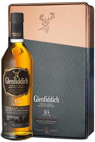 Glenfiddich 15 Jahre Distillers Edition Geschenkbox