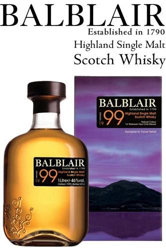 Balblair Vintage 1999 - 1 Liter Whisky