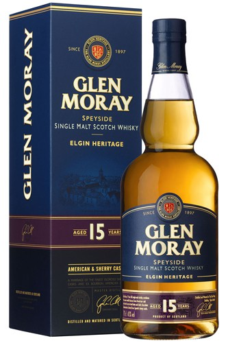Glen Moray 15 Jahre Elgin Heitage