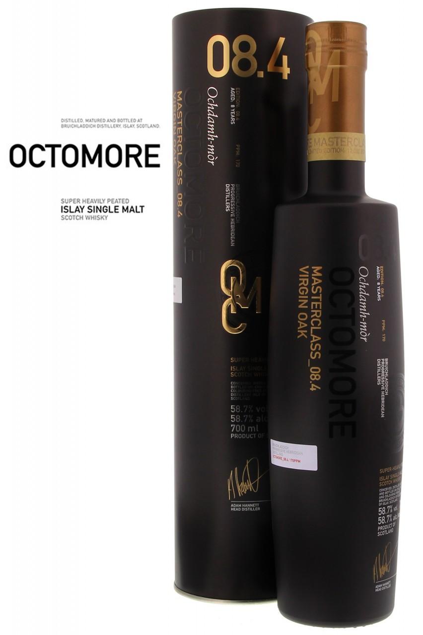 Bruichladdich Octomore 08.4.Masterclass Virgin Oak