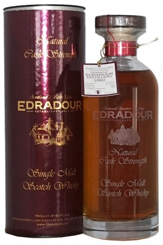 Edradour 2002 Sherry Decanter