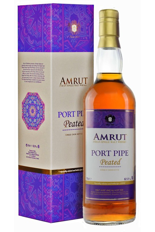 Amrut Port Pipe Peated Whisky