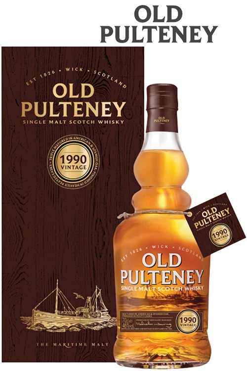 Old Pulteney Vintage 1990 - Limited Edition