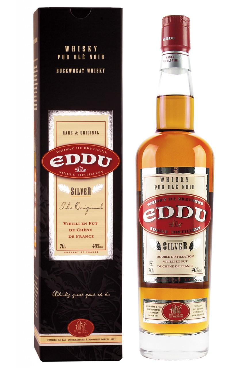 Eddu Silver Pur Blé Noir Whisky (Bretagne)
