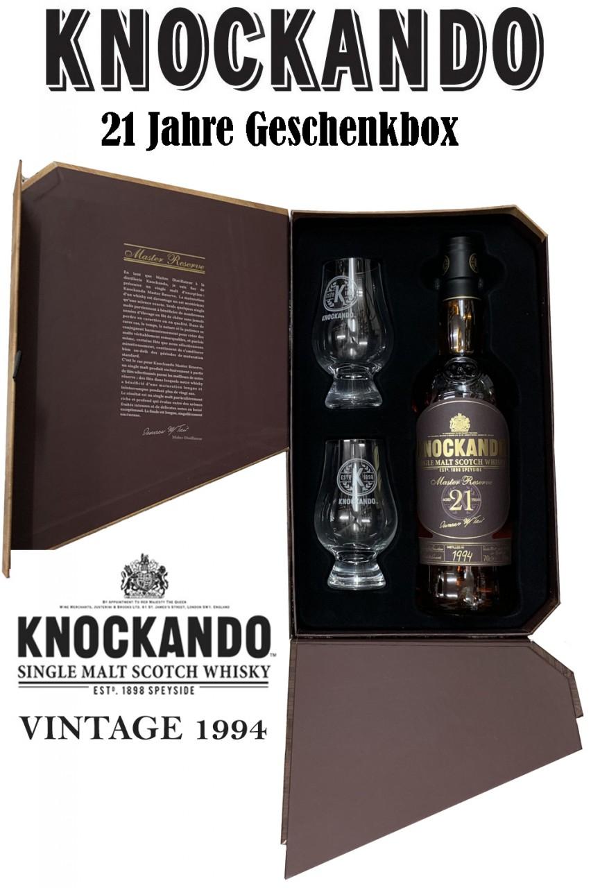 Knockando 21 Jahre Geschenkset - 1994