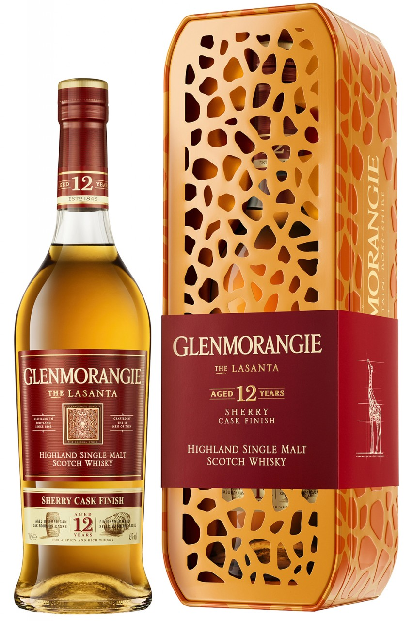 Glenmorangie The Lasanta - Giraffe Box