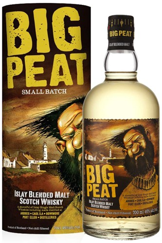 Big Peat Whisky mit Tube