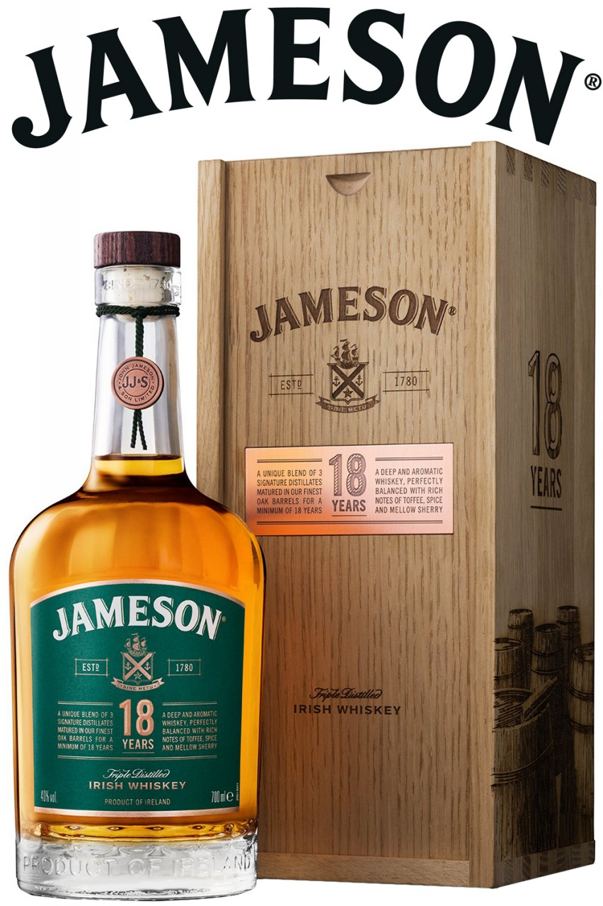Jameson 18 Jahre in Holzbox