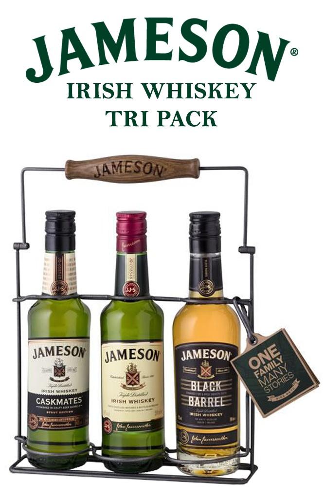 Jameson Irish Whiskey Tri Pack