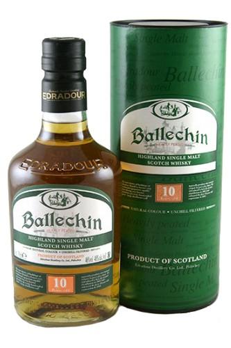 Ballechin 10 Jahre Peated Single Malt Whisky