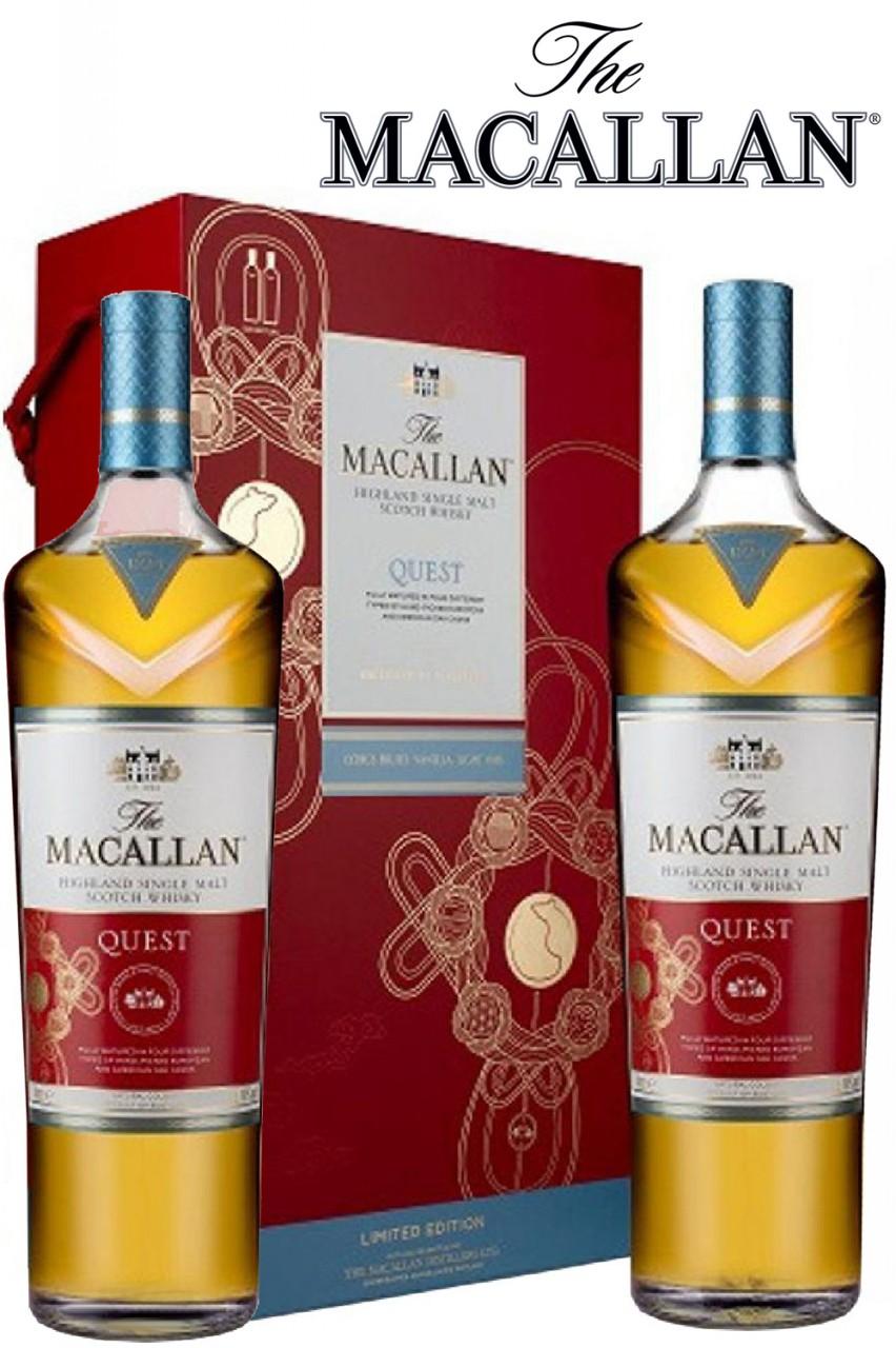 Macallan Quest - CNY Edition - 2 x 1 Liter