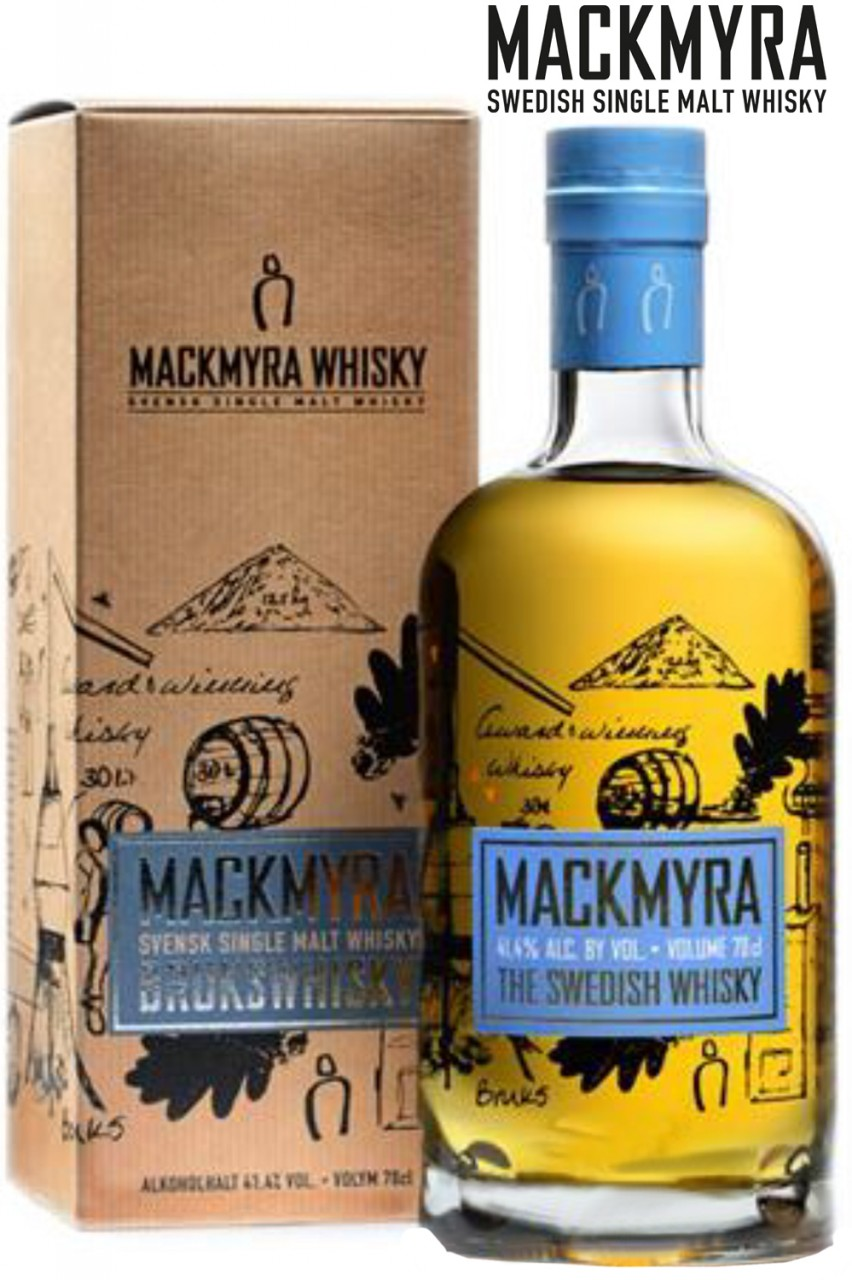 Mackmyra Bruks Whisky - 41,4% Vol.