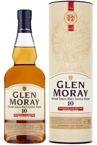 Glen Moray 10 Jahre Chardonnay Cask