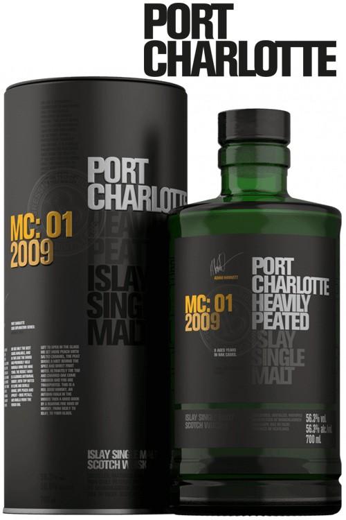 Port Charlotte 2009 MC:01 - Marsalla Cask 56,3% Vol.