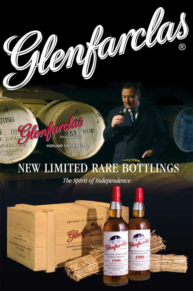 Glenfarclas 1988 Holzkiste mit 6 Flaschen