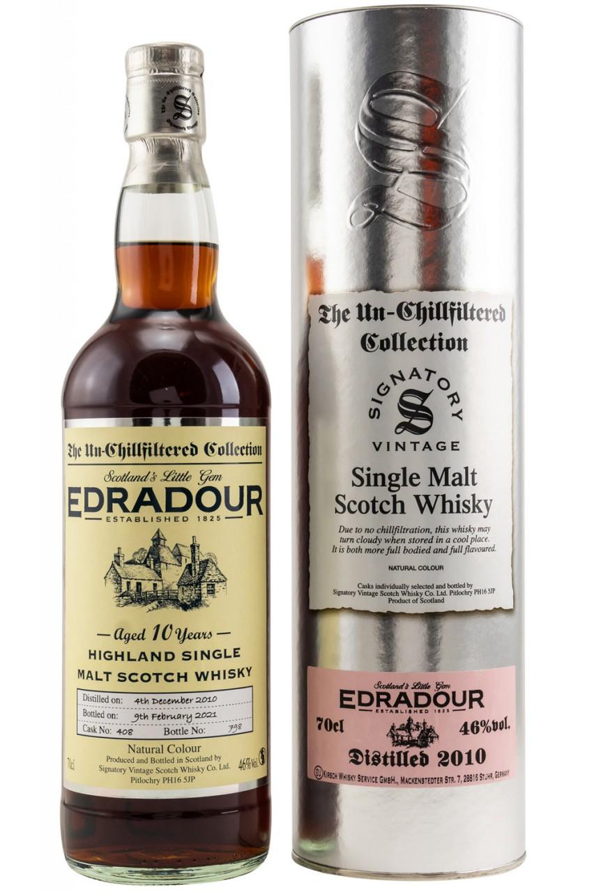 Edradour 2010 - Signatory Vintage