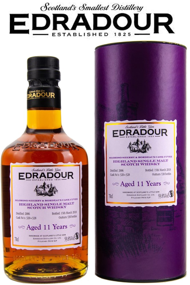 Edradour 2006 / 2008 Oloroso - Bordeaux Cuvee