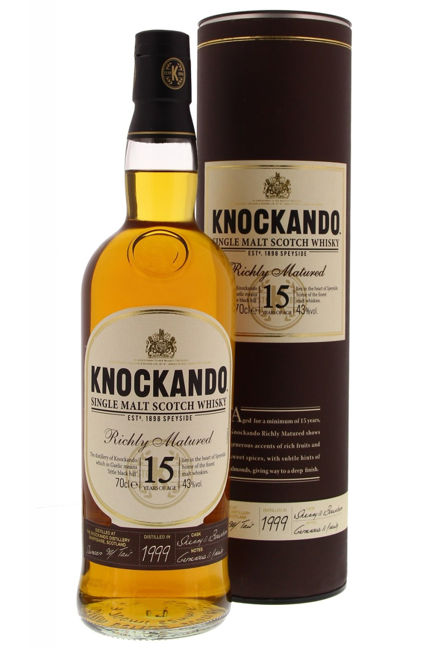 Knockando 1999  15 Jahre Richly Matured