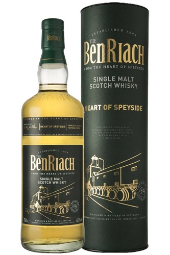 BenRiach Heart of Speyside Single Malt Whisky