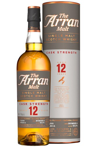 Arran Cask Strength 12 Whisky