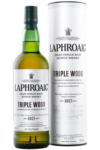 Laphroaig Triple Wood 48% - 0,7 Liter