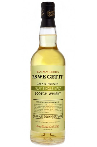 AS WE GET IT Ian Macleods Cask Strenght
