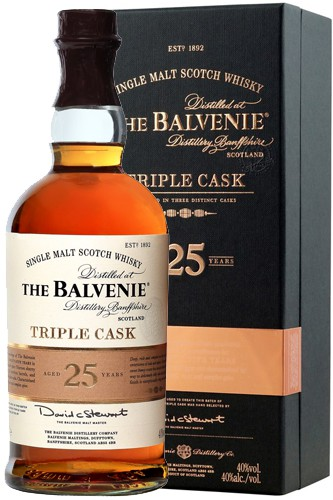 Balvenie 25 Jahre Tripel Cask