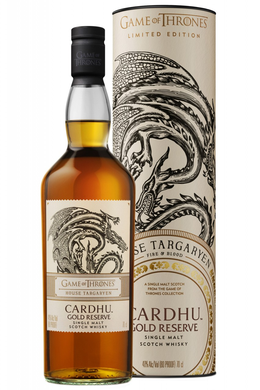 Cardhu Gold Reserve - Games of Thrones