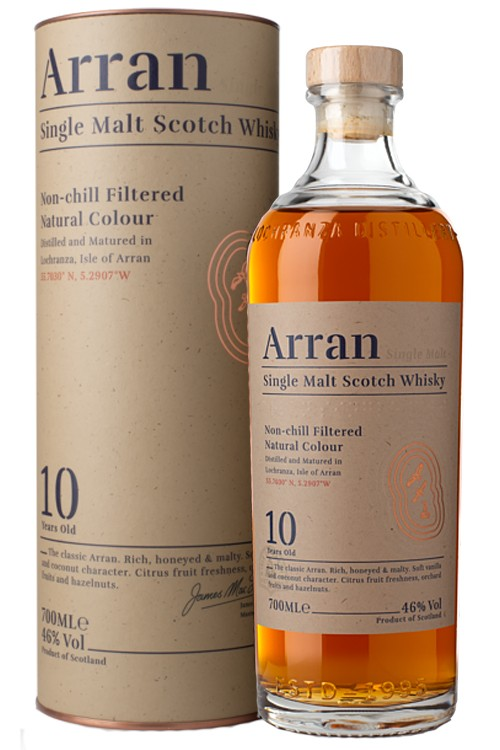 Arran 10 Jahre - New Design