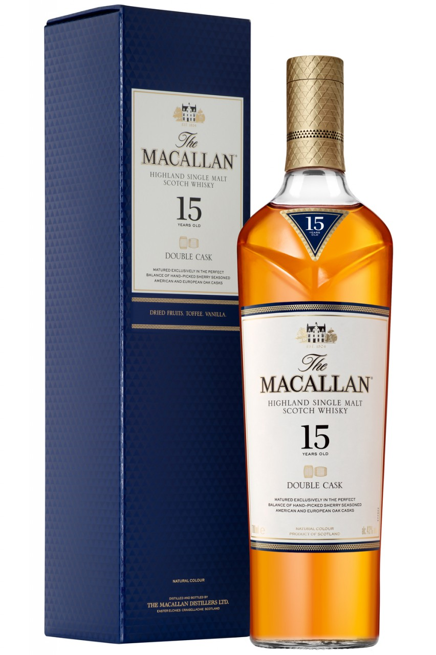 The Macallan 15 Jahre Double Cask