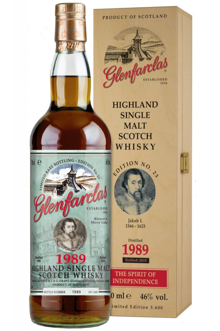Glenfarclas Edition 23 - Jakob I. - 1989
