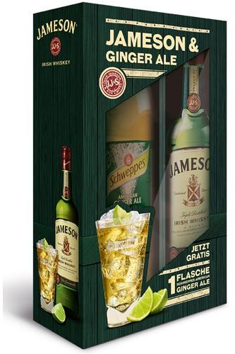 Jameson & Ginger Ale Geschenkset