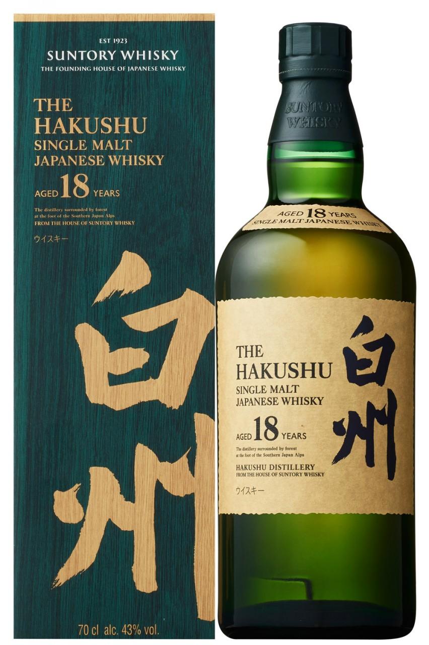 The Hakushu 18 Jahre Whisky
