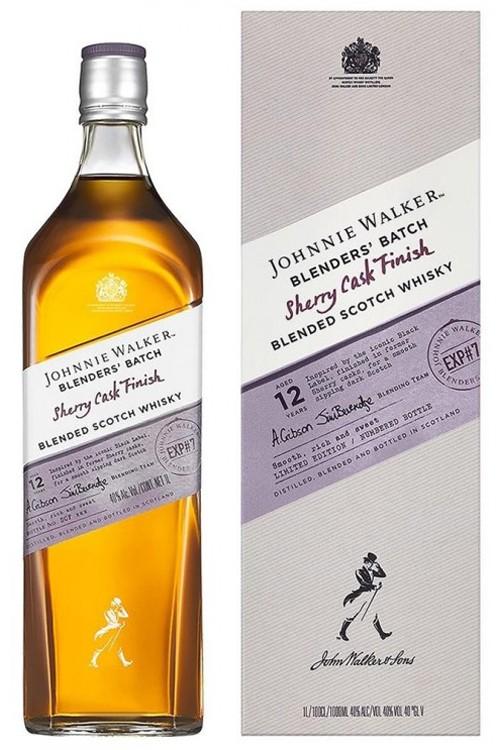 Johnnie Walker Blender's Batch Sherry Cask Finish 12 Jahre